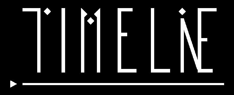 Timelie game logo white